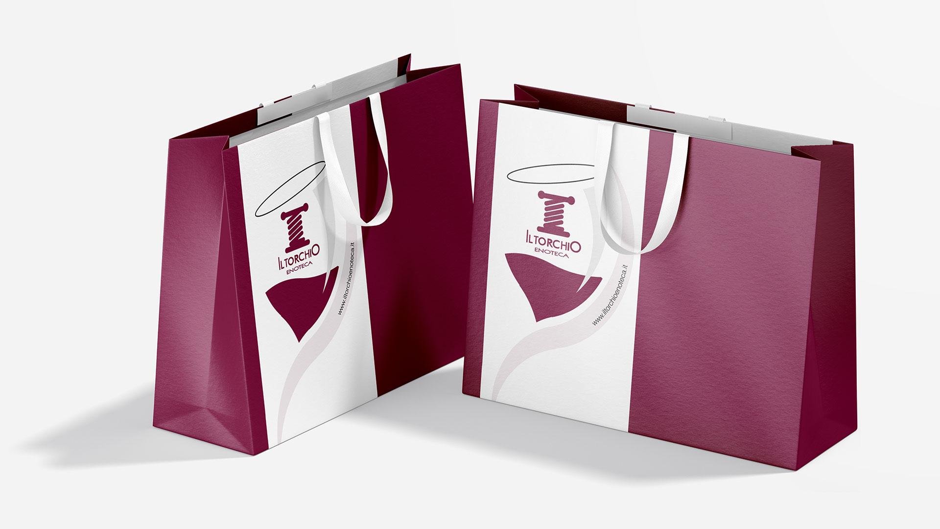 Packaging e Shopping bag